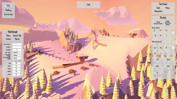 Carried Away is a physics sandbox game.