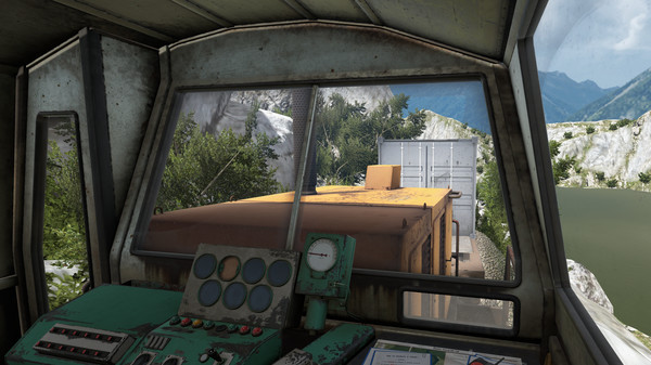 Derail Valley is a train simulator.