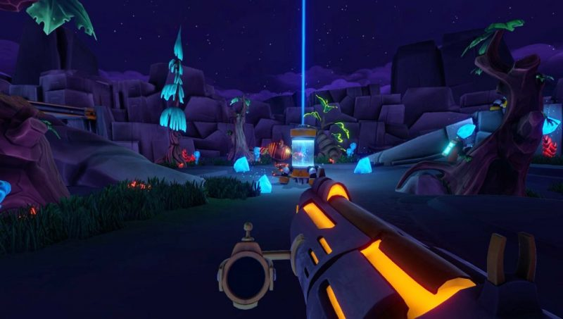 Aftercharge is an indie FPS.