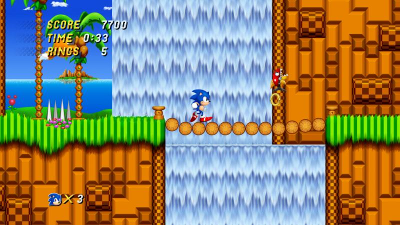Sonic 2 HD fan game.