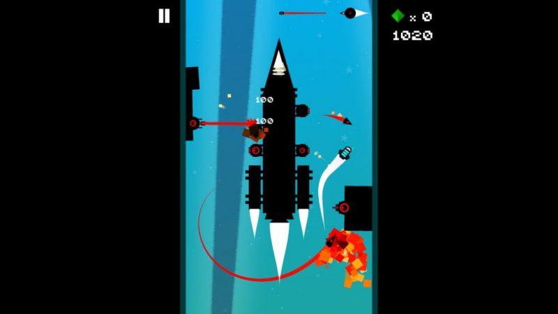 Super Duper Ship 2 is an arcade indie game.