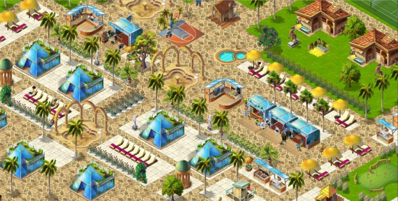 Aloha: Paradise Hotel game.