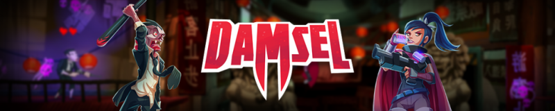 Damsel is a platformer game.