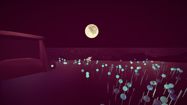 Over the Moonlight is almost a horror indie simulation with trippy graphics.