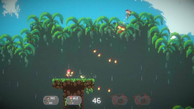 Jump Gunners (Early Access) – A Couch Multiplayer Action Game That Guarantees a Good Time