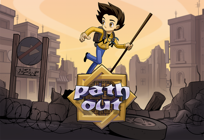 Path Out adventure indie game.