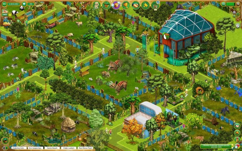 My Free Zoo (Complete) - A Zoo Tycoon Game Where You Can