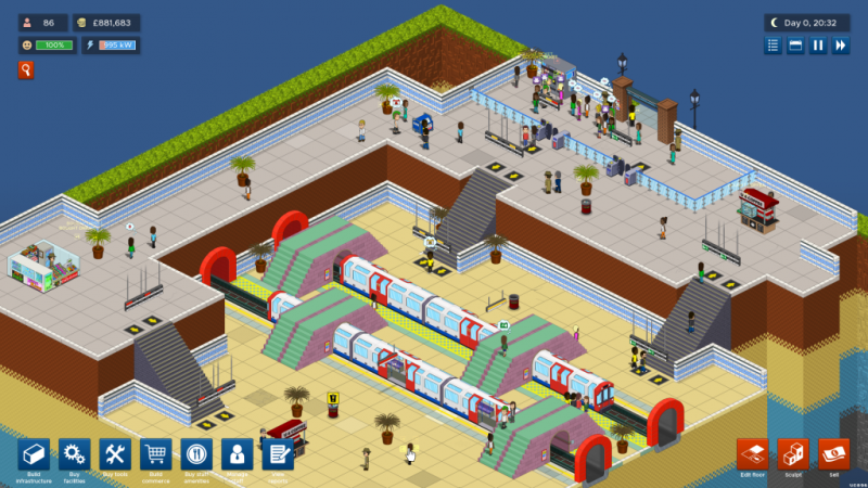 Overcrowd (Early Access) – A Strategic Tycoon Game Where You Need to Manage Train Stations in Underground London