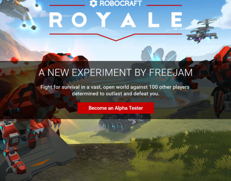 robocraft royale game