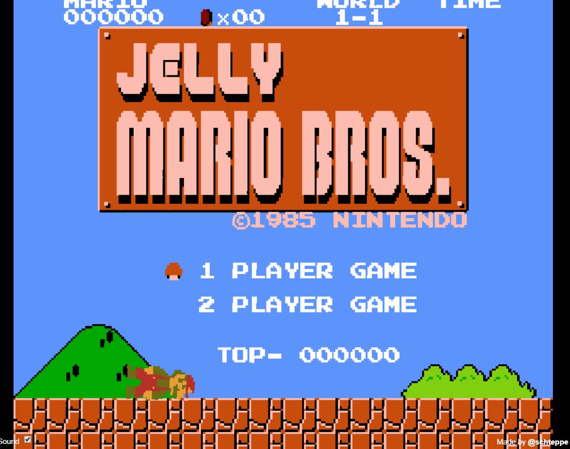 jelly mario game