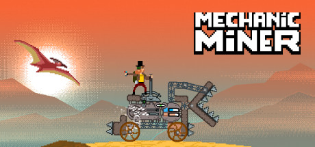 Mechanic Miner is a an awesome 2D survival/crafting game that focuses on exploration and building steam machines.
