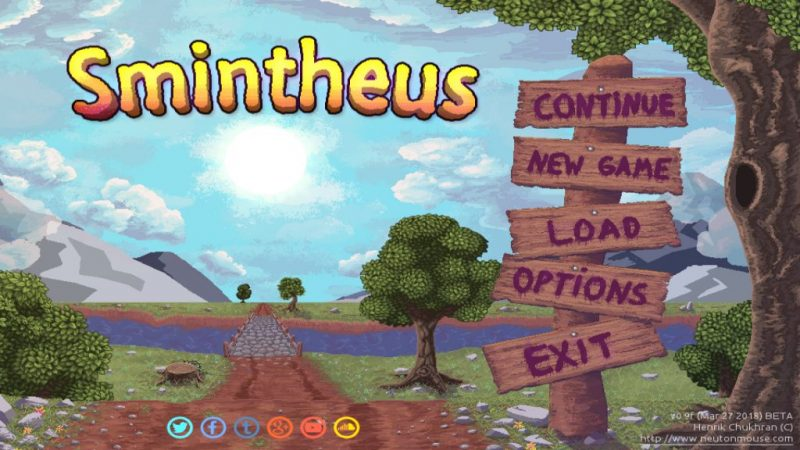 Smintheus is a free indie puzzle adventure game.