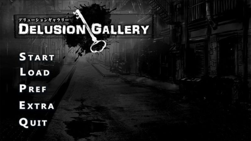 Delusion Gallery (Complete) – An Impressionist Indie Horror Visual Novel with Tons of Branching Paths and a Unique Experience Every Time