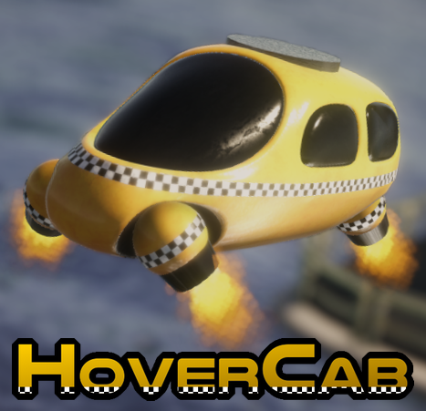 HoverCab (Early Access) - Be the Best Space Taxi Driver You Can Be!