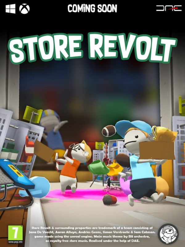 Store Revolt (Early Access) – Physics-Based Local Party Game with Guaranteed Laughs