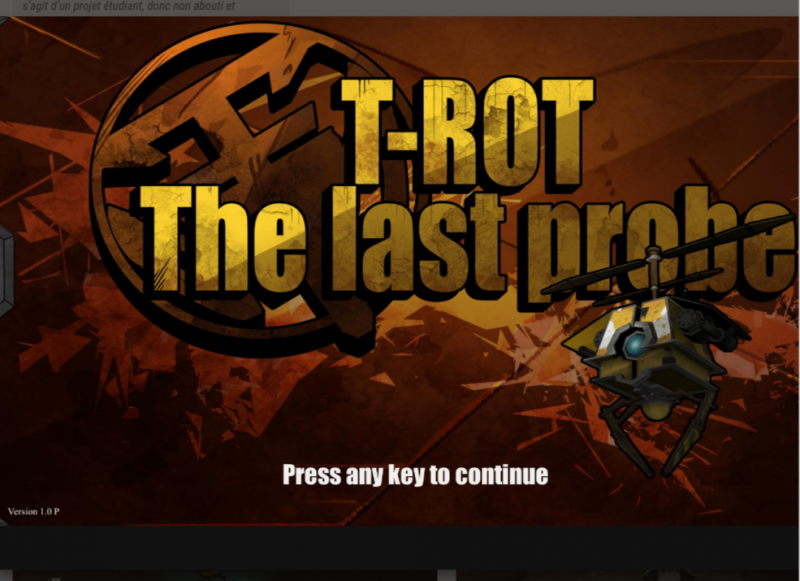 t-rot the last probe game