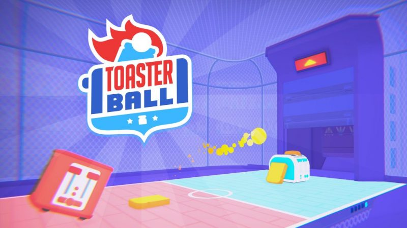 Toasterball (Early Access) – It's Pong with Toasters