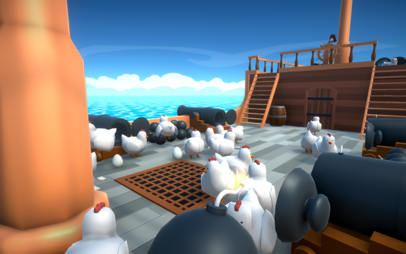 blow the hen down game download play review