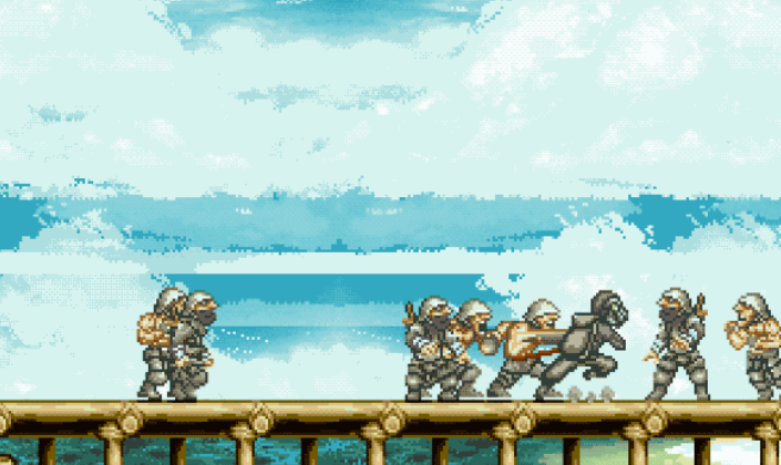 Demon Sluga (Alpha) – Metal Slug Beat 'Em Up!